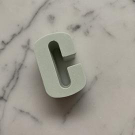 Stoepkrijt - Letter C