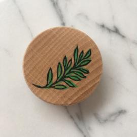 Houten magneet Eucalyptustak