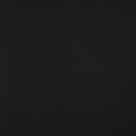 Katoen - Effen zwart