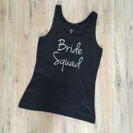 T-shirt voor het vrijgezellenteam: Bride Squad