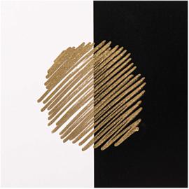 Lakstiften Rico Design - set van goud en zilver (4 stuks)