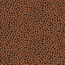 Katoen - Poppy - Luipaard bruin