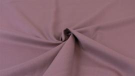 Katoen - Effen roze - donker (oudroze)