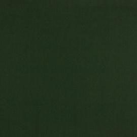 Katoen - Effen groen - donkergroen