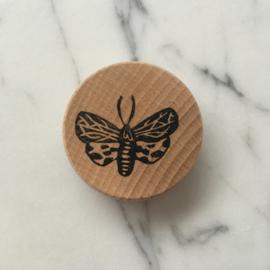 Houten magneet vlinder 3