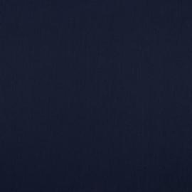 Katoen - Effen marineblauw