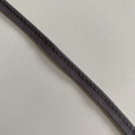 Paspel katoen 3mm dik - Grijs