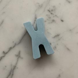 Stoepkrijt - Letter X