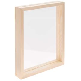 Foto-/kaartenkader staand - hout