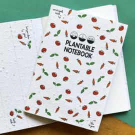 Notitieboekje BLOOM your message: groenten