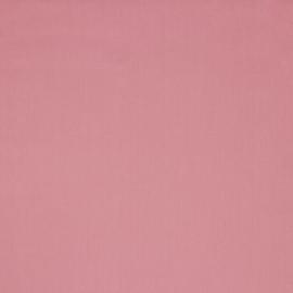 Katoen - Effen roze - poederroze