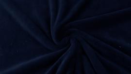 Teddy fleece marineblauw