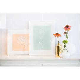 Krijtstiften Rico Design: set van 6 aardetinten