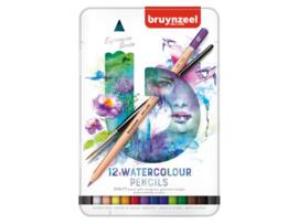 Aquarelpotloden Bruynzeel Expression (set van 12 potloden)