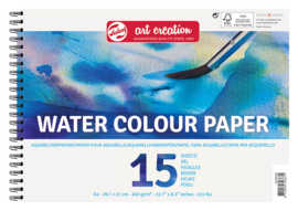 Aquarelpapier A4 - 240g (15 vellen)