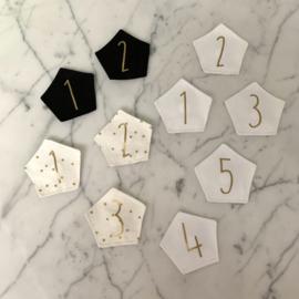 Verwisselbare nummer(s) (per stuk)