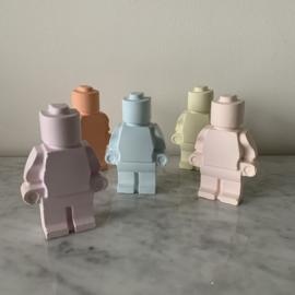 Stoepkrijt - Legomannetje groot