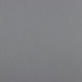 Katoen - Effen grijs