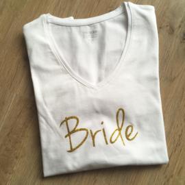 T-shirt voor de bruid: Bride