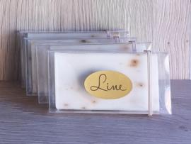 Stickers zilver, goud of roségoud met zwarte print (A4-vel)