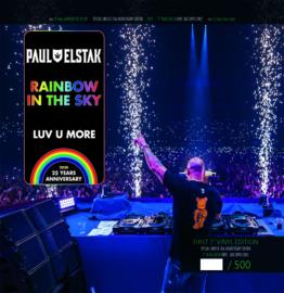 Paul Elstak Rainbow in the Sky / Luv U More - Green Vinyl