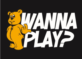 Wanna Play Sticker
