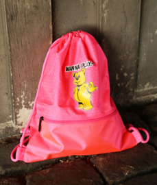 Pink Backpack WANNA PLAY