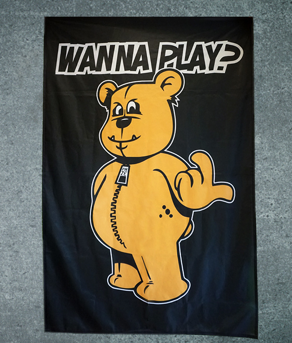 Flag WANNA PLAY Original