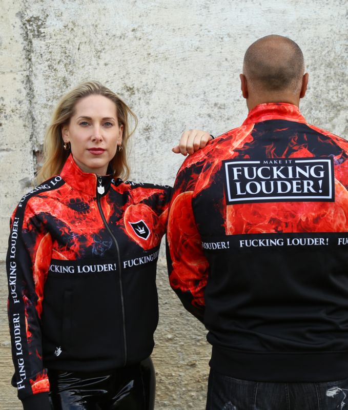 Track Jacket MAKE IT FUCKING LOUDER - LIMITED
