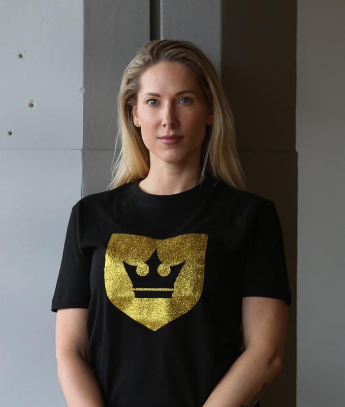 T-shirt LSTK Gold Glitter - LIMITED