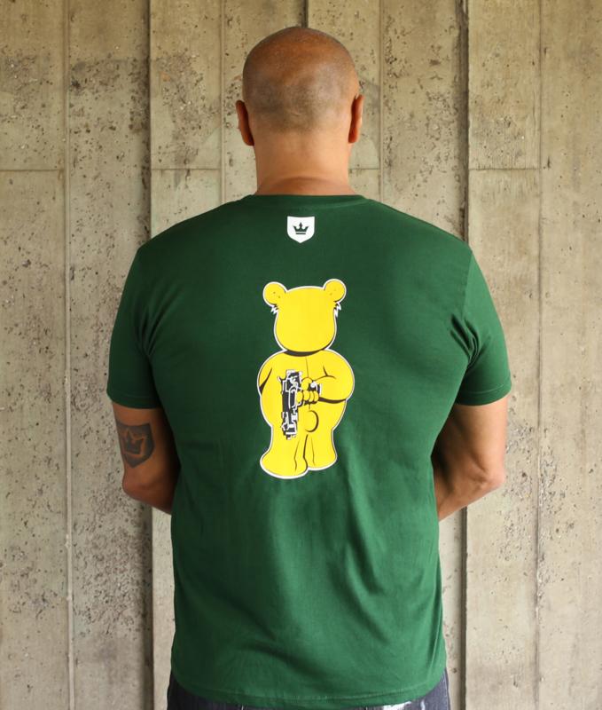Green T-shirt WANNA PLAY