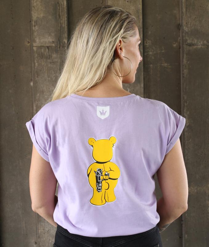 Lilac T-shirt WANNA PLAY