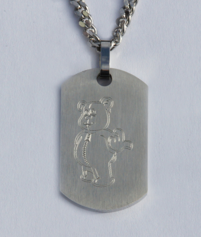 Steel Necklace WANNA PLAY 60 cm