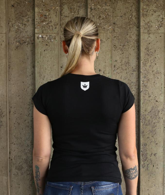 Lady T-shirt Black MAKE IT FUCKING LOUDER