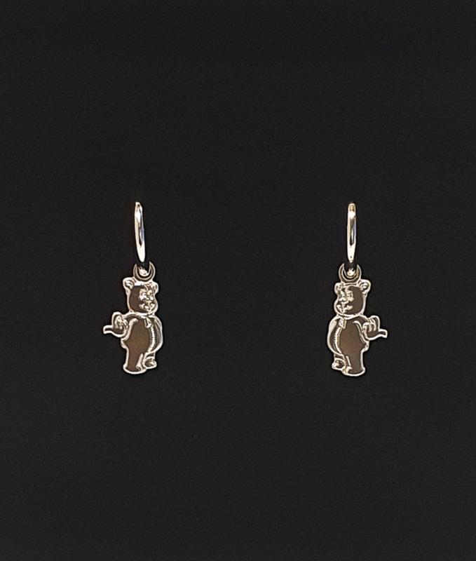 Earrings WANNA PLAY Silver Pendant