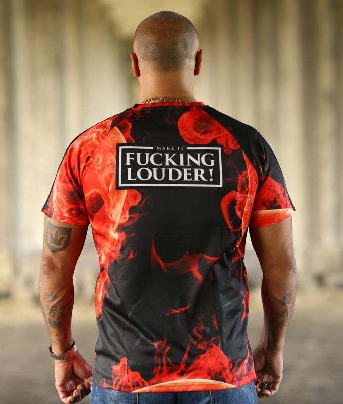 Tape Shirt MAKE IT FUCKING LOUDER - LIMITED