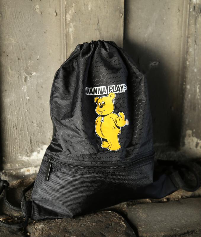 Black backpack WANNA PLAY
