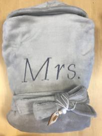 Badjas Fleece XS/S Mrs.