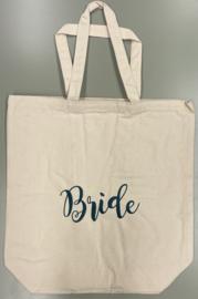 Canvas tas Bride