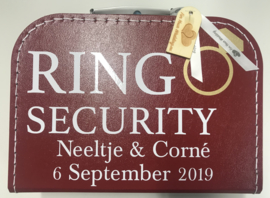 Ring security koffertje
