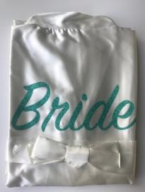 Kimono Bride glitter groen