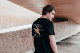 All Dogs Tee in Black