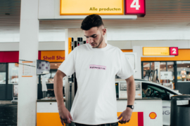 Estafette Boxlogo Tee in White