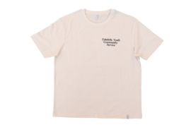 Relaxed Fit Youth Tee in Natural White