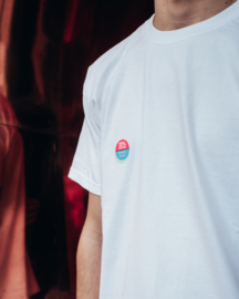 35% Tee in White