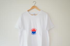SS19 - Snug Fit Graphic Tee 'Kinda Pepsi' in White