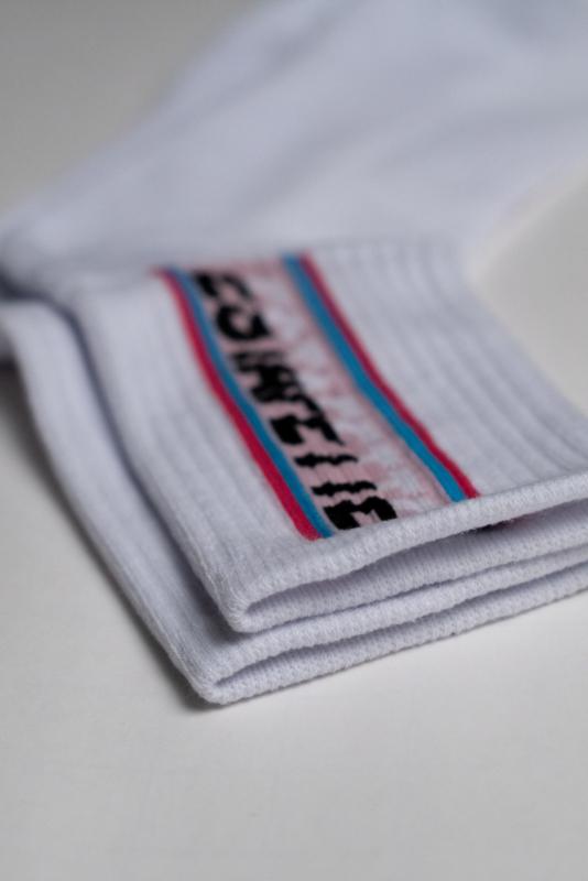 Estafette Boxlogo Socks in White