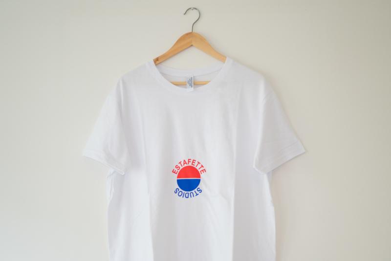 Snug Fit Graphic Tee 'Kinda Pepsi' in White
