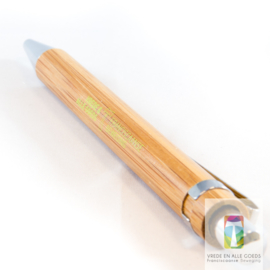 Pen met opschrift
