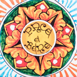 Kaartenset 'Pace e Bene' met envelop
